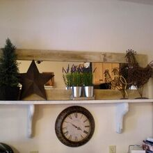 gorgeous pine frame for a door mirror only 5 to build, woodworking projects