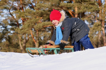 set up your yard for safe winter sports, outdoor living