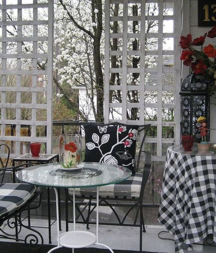 front porch privacy, outdoor living, porches