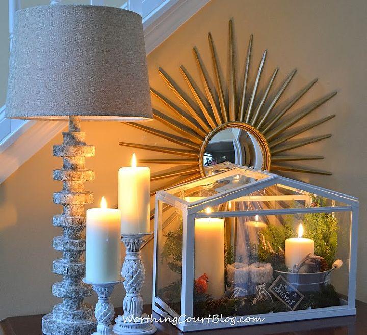 how to create a vignette in a terrarium, crafts, home decor, terrarium, My terrarium is part of a winter vignette