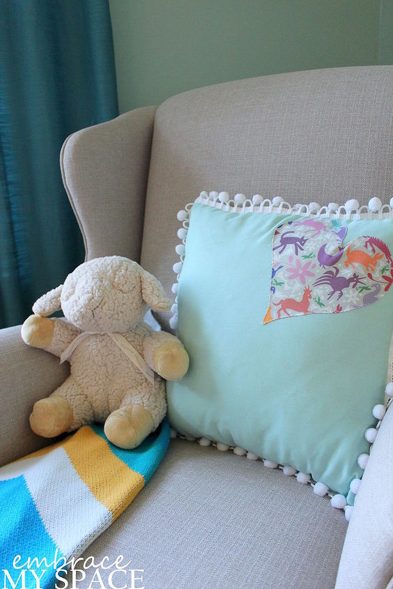 colorful gender neutral nursery full of diy, bedroom ideas, chalkboard paint, crafts, diy, home decor