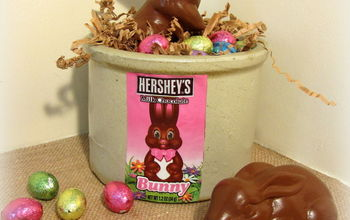 $2 Faux Chocolate Easter Bunnies