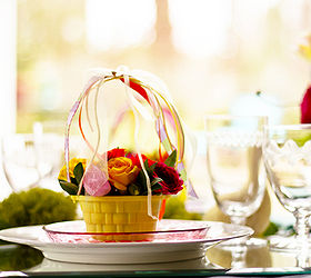 Easter Table Setting Ideas, Easter Decorations, Seasonal Holiday D Cor,  Easter Baskets At