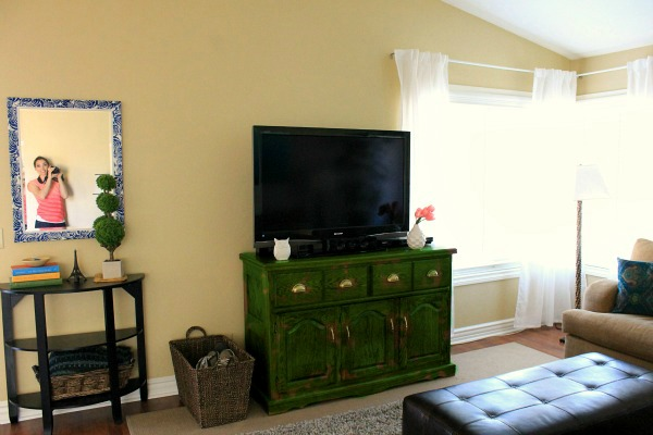 i need your help what does my living room need, home decor, living room ideas, should I paint the media cabinet green