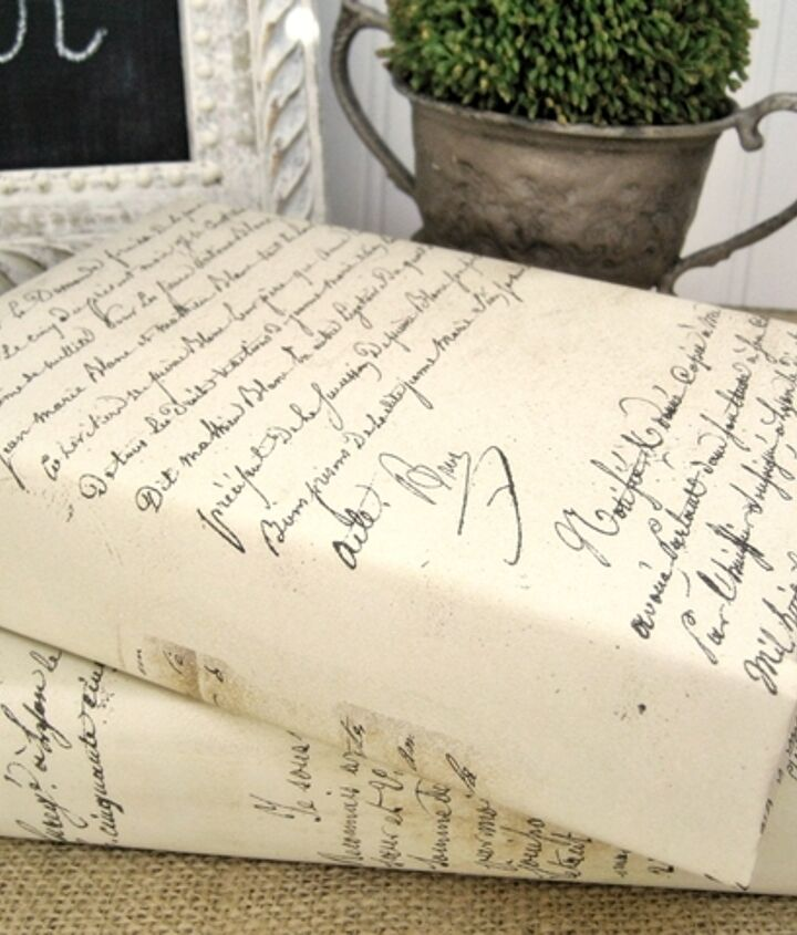 boxwood and french script bargains, crafts, home decor