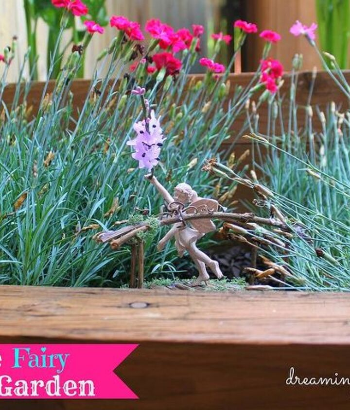 These little miniature structures add such whimsy to a garden