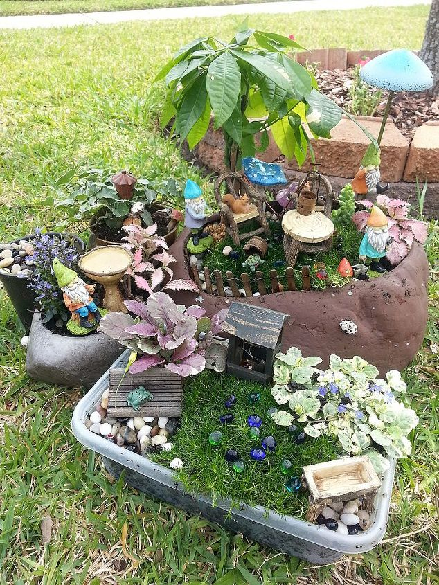 The expanded version of our Gnome Garden