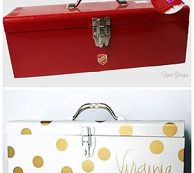 craft storage from a vintage tool box cleaning tips repurposing upcycling Can you  sc 1 st  Hometalk & Craft Storage From A Vintage Tool Box | Hometalk