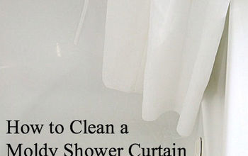 How to Clean Moldy Shower Curtain Without Bleach