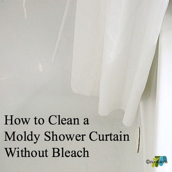 How To Clean Moldy Shower Curtain Without Bleach Bathroom Ideas Cleaning Tips