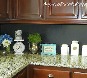 Awesome My 10 Kitchen Chalkboard Backsplash, Chalk Paint, Chalkboard Paint, Kitchen  Backsplash, Kitchen