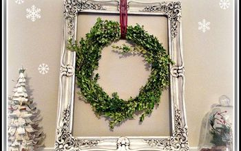 diy boxwood christmas wreath, christmas decorations, crafts, seasonal holiday decor, wreaths