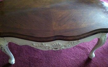 painted coffee table inspired by tonya miller dean hemets 1964 coffee table, chalk paint, painted furniture