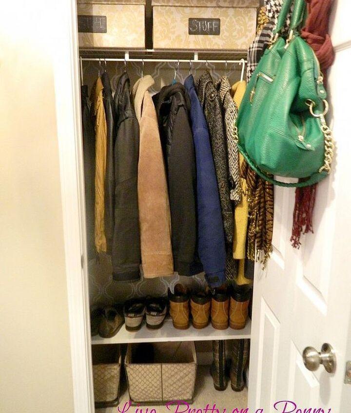 Coat Closet after!