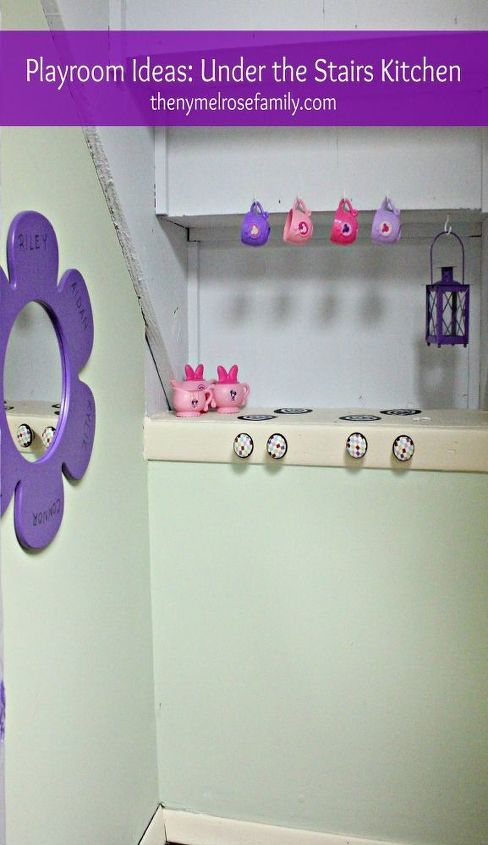 Under the Stairs Play Kitchen