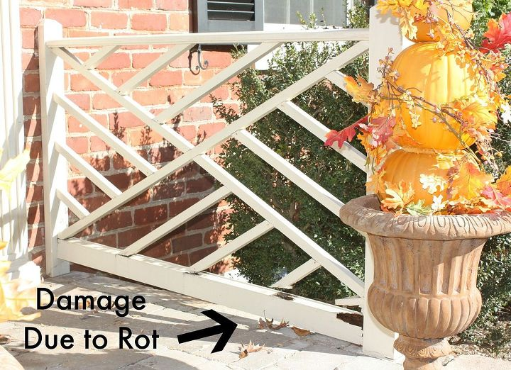 diy chippendale railings, curb appeal, diy, porches, woodworking projects