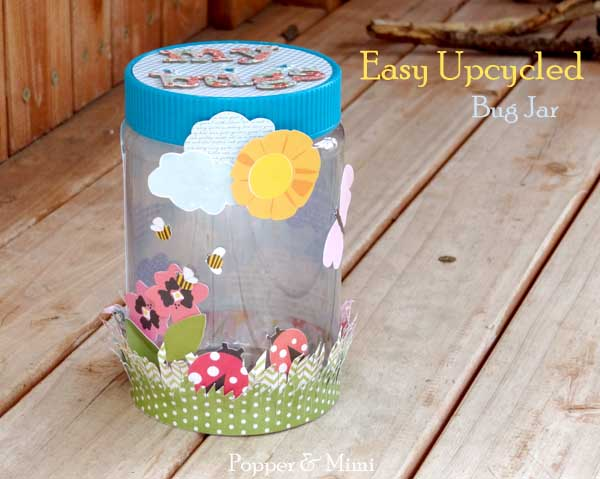 easy upcycled bug jar craft hometalk