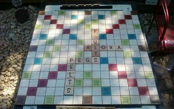 Outdoor Scrabbleboard