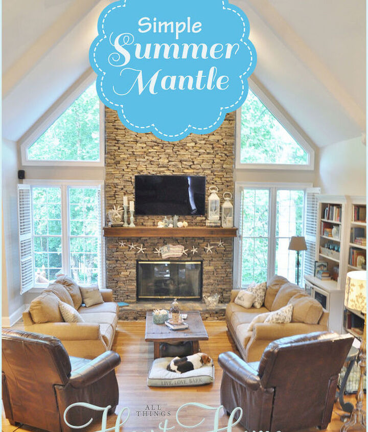 I love the simplicity of summertime in my every-day life and in my decor...don't you?