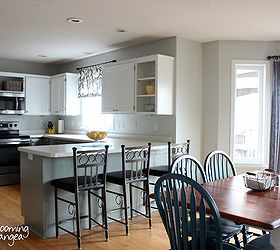 Gentil From Oak To Awesome Painted Gray And White Kitchen Cabinets, Kitchen Design,  Painting