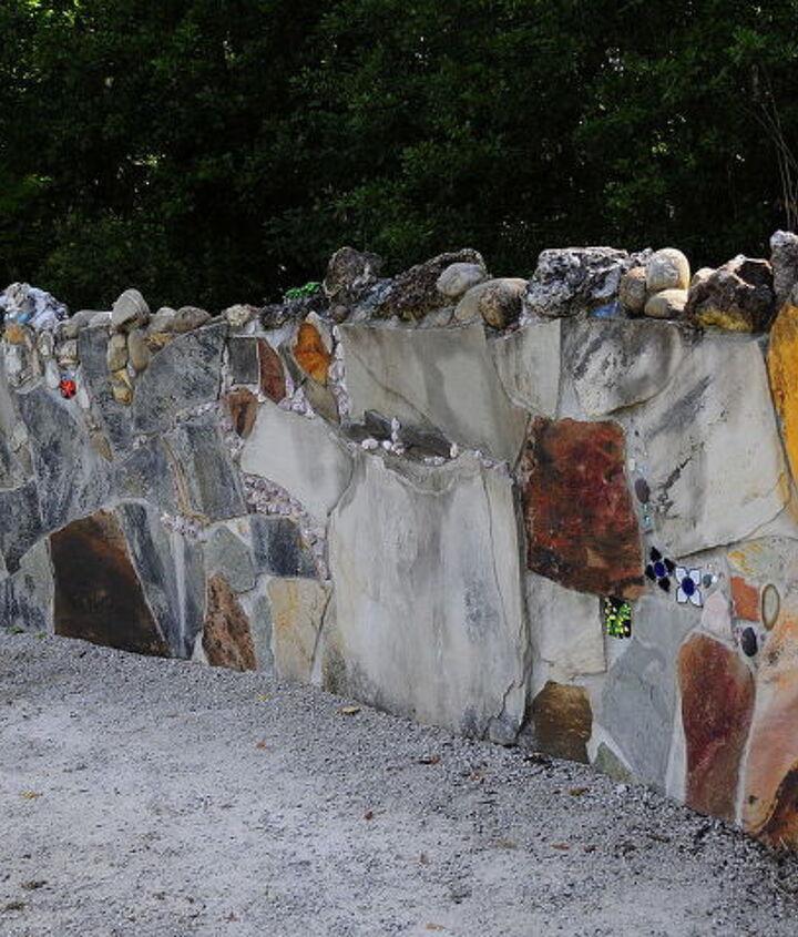 Florida Garden Wall