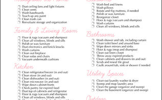 spring cleaning free printable, cleaning tips