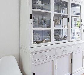 Hutch Makeover With Milk Paint, Painted Furniture, The Milk Paint Has A  Beautiful Color