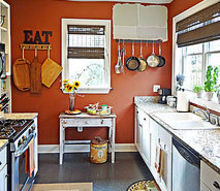 brainstorming kitchen renovation ideas suggestions, home decor, kitchen design, painting, Kitchen as is obviously I will be repainting soon Those are sample colors you see