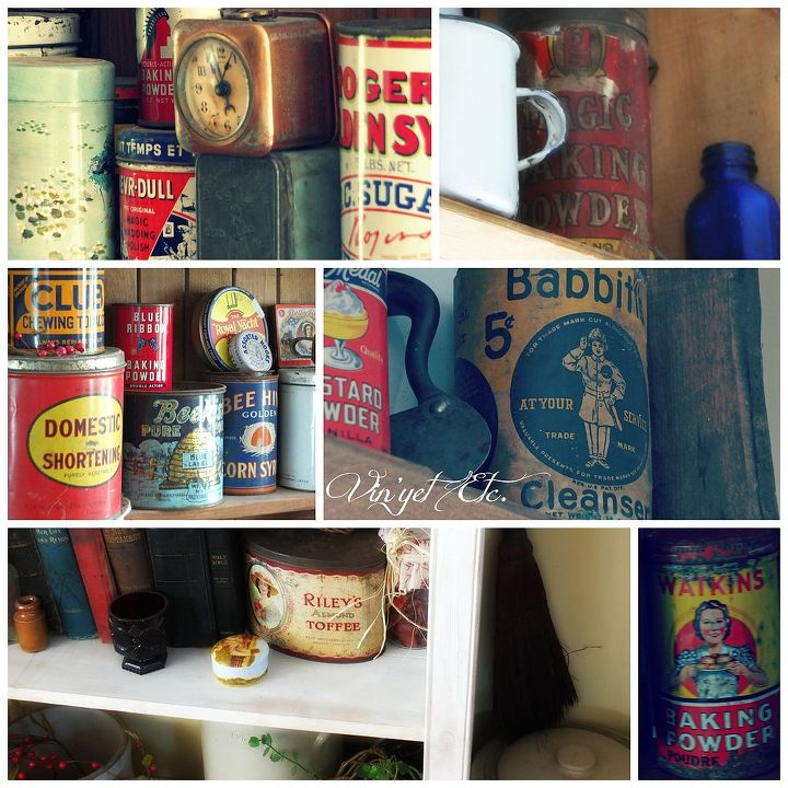 q join me in my favourite junking spot barns are full of goodies, All of the lovely tins what do you collect