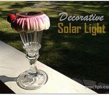 diy decorative solar light, crafts, lighting, outdoor living