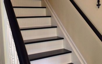 interior stairs makeover, stairs, Done Not an extremely difficult project but it was time consuming Still so worth it