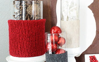 Rustic Red and Gray Vignette
