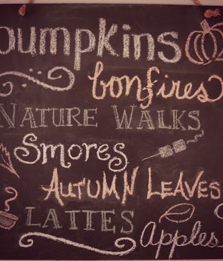 All my favorite things I love about fall...