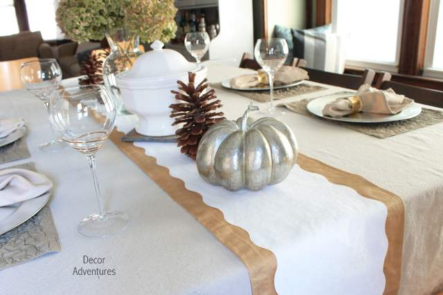 Diy Holiday Table Runner Crafts Seasonal Decor Made With