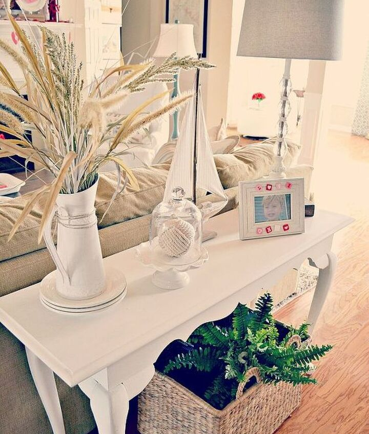 revamped great room, chalk paint, home decor, living room ideas