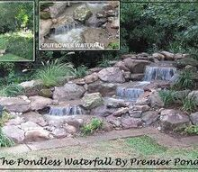 premier ponds ponds and waterfalls in the dc metro area serving dc maryland and, landscape, ponds water features, Pondless Waterfall in Frederick Maryland constructed in August 2012