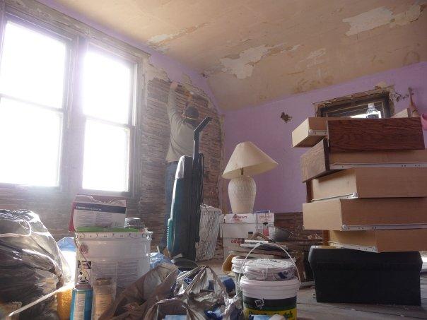 complete farmhouse bedroom renovation, bedroom ideas, home improvement, Demolition