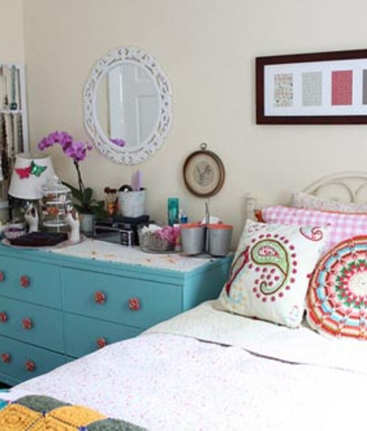 modern cottage house tour, home decor, spare bedroom