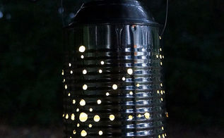tin can solar lantern tutorial, diy, how to, outdoor living, repurposing upcycling, and wait for nightfall