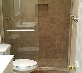 Another Bath Remodel Took Out The Bathtub And Installed A Stand Up Shower,  Bathroom Ideas