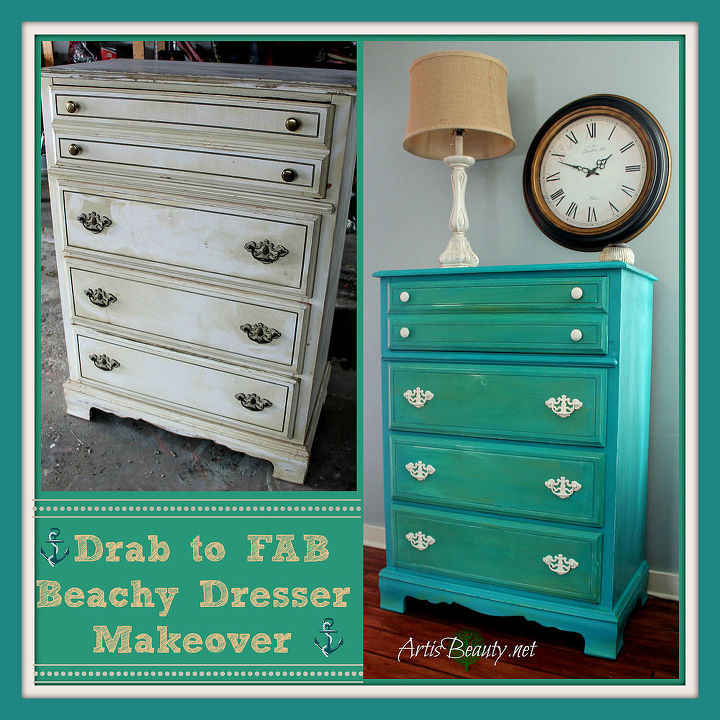 Can you even believe its the same dresser