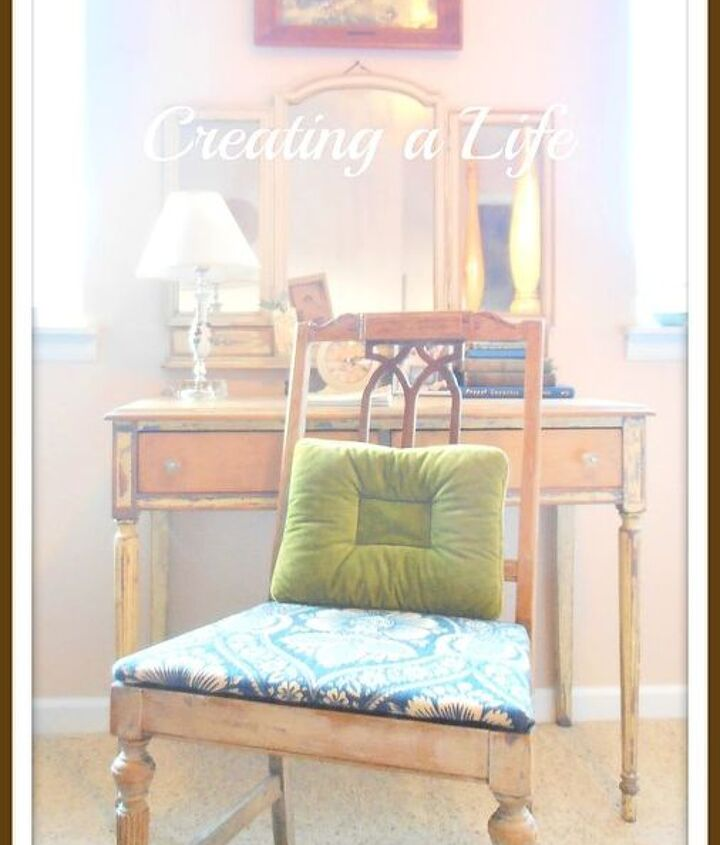 the little bitty chair makeover, home decor, painted furniture