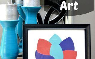 free diy paint chip art, crafts, painting, FREE DIY Paint Chip Art