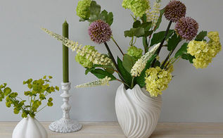 1 product styled 3 ways artificial flowers, home decor