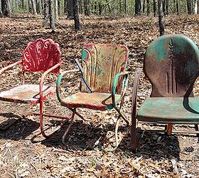 how to paint old and rusty metal outdoor chairs hometalk rh hometalk com Outdoor Furniture with Chalk Paint Painting Outdoor Furniture Patio