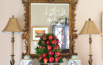 DIY Apple Topiary for the Holidays