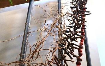 make a twig garland for free, crafts, seasonal holiday decor, Cut up equal sized twigs tie them together and you have a beautiful garland for free