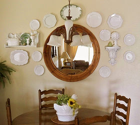 decorating with plates wall collages home decor shelving ideas A collage with white & Decorating with Plates - Wall Collages | Hometalk