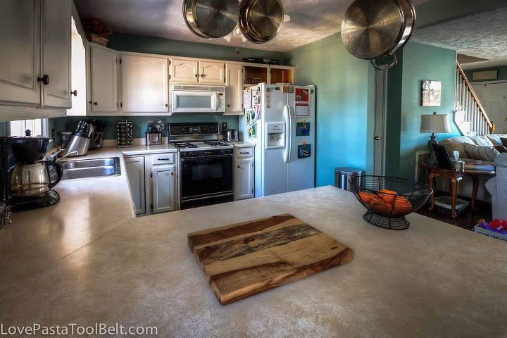 kitchen reveal before and after, home decor, home improvement, kitchen design