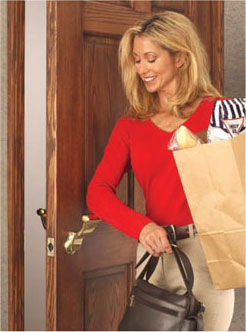 check out this new door hardware hands free, doors, home decor, SOSS Ultra Latch